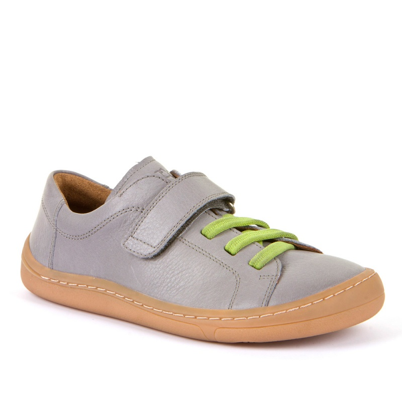 Froddo barefoot light grey ježek vezalke