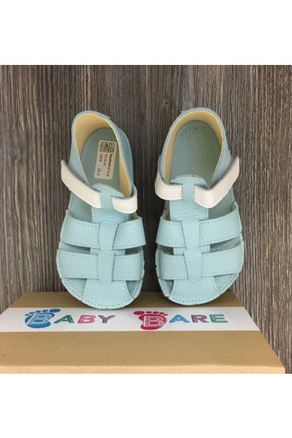Baby bare shoes Sandals Acqua