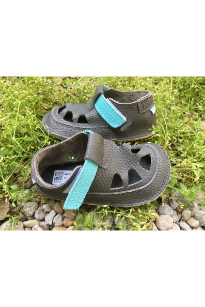 Baby bare shoes Summer perforation Beetle