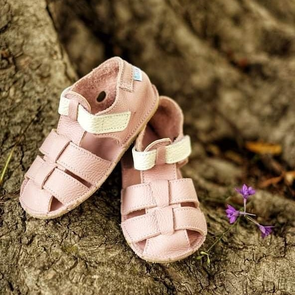 Baby bare shoes Sandals Candy