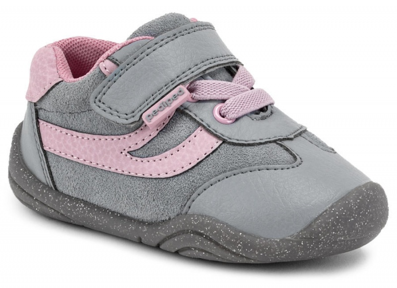 Pediped Grip'n'Go Cliff grey pink
