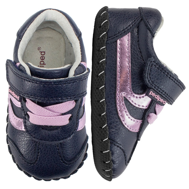 Pediped Originals - Cliff navy pink