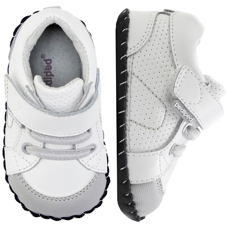 Pediped Originals - Dani white grey