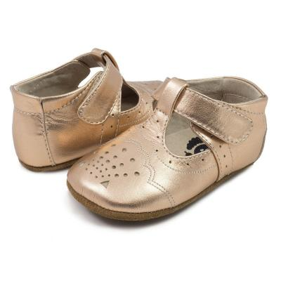 Livie and Luca Cora rosegold metallic
