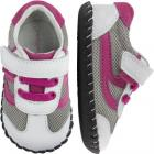 Pediped Originals - Cliff white fuchsia